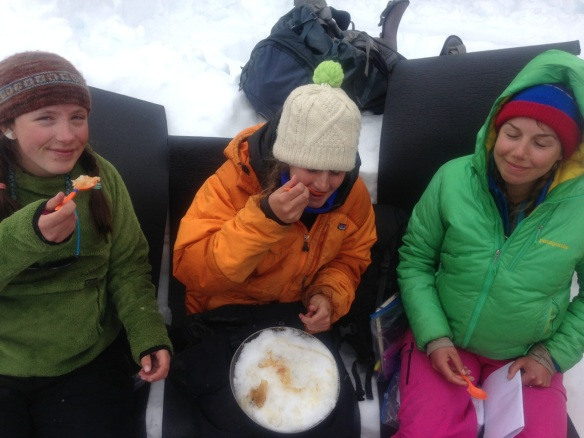 Mary Claire writes from the Colorado Rockies where she leads HMI winter expeditions: