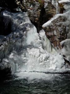 Big Boy Ice at Bingham Falls