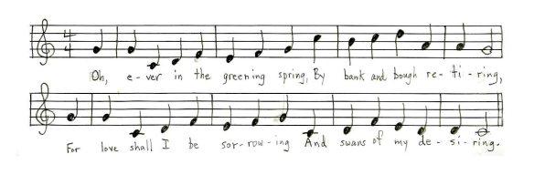 Text: E.B. White Tune: Nebraska folk